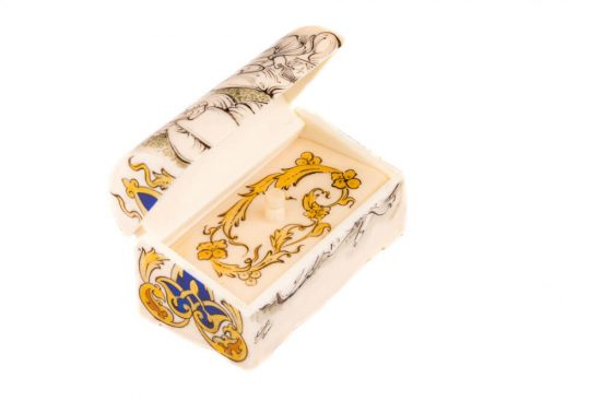 جعبه جواهر شیک و لوکس استخوان کوچک