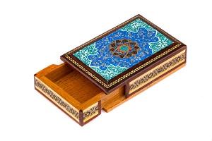 جعبه سکه چوبی کادو جدید