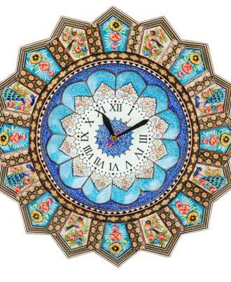 ساعت های گرد جدید دیواری طرح زیبا مدل چوبی