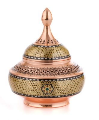قندان جدید تزئینی و پذیرایی در مدل ظروف مسی