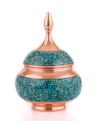 شکلات خوری فیروزه کوب مسی اصفهان