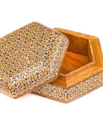 جعبه سکه خاتم کاری اصفهان