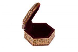 جعبه جواهرات چوبی انواع دست ساز دخترانه