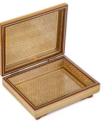 خرید جعبه چوبی هدیه خاتم و هنری اصفهان خاص و زیبا