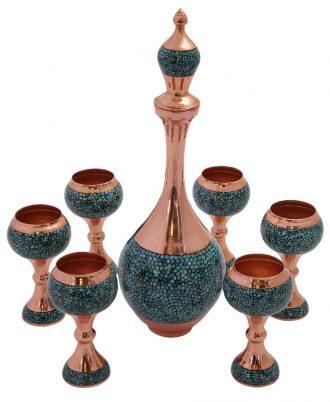 ست ویترینی بسیار زیبا و شیک فیروزه کوبی اصفهان