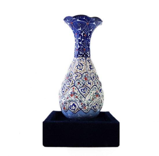 گلدان دکوری زیبا میناکاری صنایع دستی اصفهان