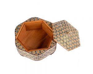 جعبه پذیرایی چوبی و زیبا