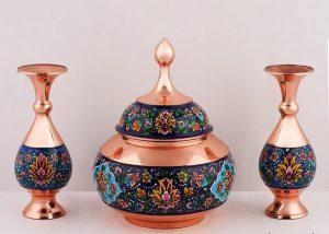ست ویترینی صنایع دستی ظروف زیبا اصفهان