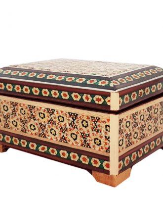جعبه خاتم کاری شده اصفهان زیبا و شیک