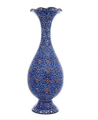 گلدان سنتی و هنری میناکاری شده