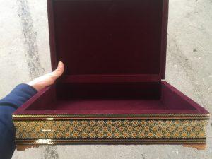 جعبه خاتم اصفهان