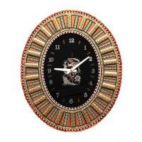 ساعت دیواری خاتمکاری کد-dkh72-