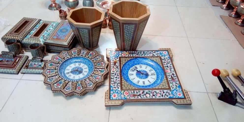 محصولات خاتم کاری اصفهان